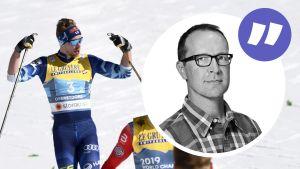 Joni Mäki åker i mål.