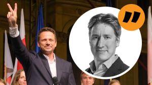 Rikhard Husus kommentar om presidentvalet i Polen.