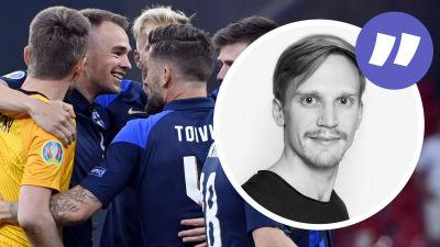 Finland firar seger i EM.