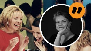 Miranda (Cynthia Nixon), Samantha (Kim Cattrall), Charlotte (Kristin Davis) och Carrie (Sarah Jessica Parker) i succéserien Sex & the City.