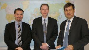 Exportandelslaget Viexpo, Markus Jussila, vd Mikael Kvist, styrelseordförande Kaj Suomela