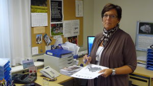 Carola Holm-Palonen, bildningschef i Larsmo.