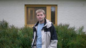 Fastighetschef Daniel Vikström vid Pedersörenejdens kyrkliga samfällighet