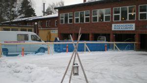 Renoveringen av äldreboendet Hagalund har börjat i Nykarleby