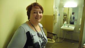 Nya toaletter är en av många saker som kan diskuteras på möten mellan personal och beslutsfattare, säger kvalitets- och utvecklingschef Tanja Witick