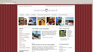 Borgå stads webbsidor