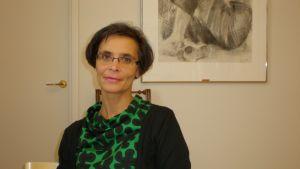 Avdelningschef för familje-och vuxensocialarbete i Jakobstad, Maria Aho