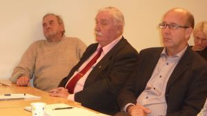 SFP:s Kurt Wennerqvist, SDP:s Ulf