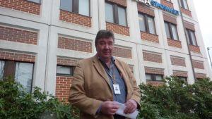 Leo Rintanen är ordförande för SDP:s lokalavdelning i Lojo.