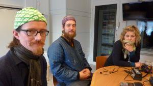 Espen Andre Kristoffersen, Niklas Adams och Runa Norheim