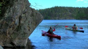 Det går bra att paddla i nationalparker
