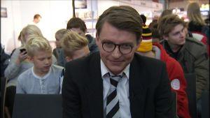 Boktids programvärd Petter Lindberg