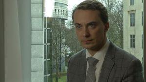 Morten Messerschmidt, europaparlamentariker för Dansk Folkeparti, mars 2014