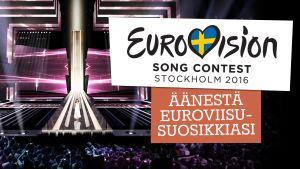 äänestä euroviisujen suosikkimusiikkivideota