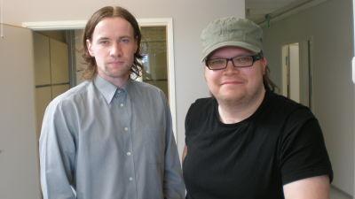 Nicklas Storbjörk och Anders Eklund, två av personerna bakom gratistidningen Dagens Tidning