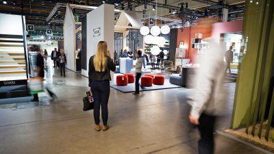 Ikean osasto Habitare-messuilla.