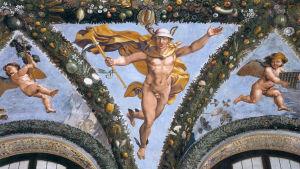 Raphaelin kattofresko Cupidosta ja Psykhestä