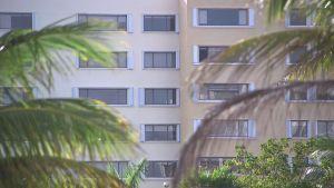 Höghus i Key  Biscayne i Florida.