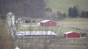 Bild från landsbygden i Petersburg, West Virginia.