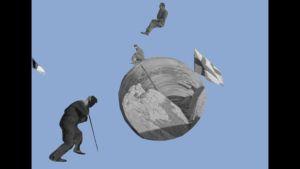 Timo Wrightin Oi maamme! -lyhytelokuva Uutta ja parempaa.