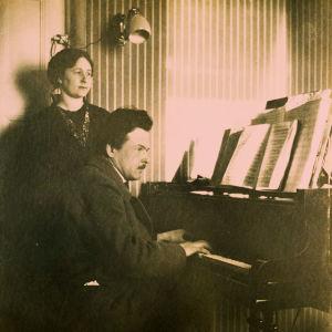 Alma ja Toivo Kuula.