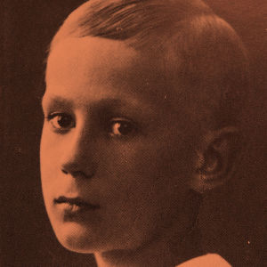 Mies Reenkola 10-vuotiaana