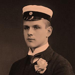 Gösta Schybergson ylioppilaana