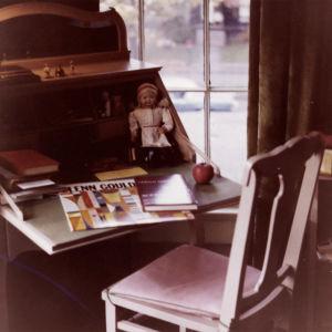 Meri Louhoksen huone Rochesterissa 1960.
