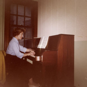 Meri Louhos Eastman School of Musicissa 1960.