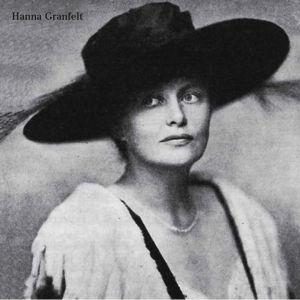 Oopperalaulaja Hanna Granfelt noin 1910-luvulla.
