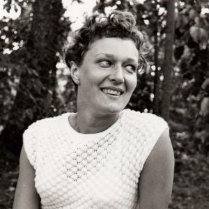 Ritva Auvinen 1950-luvulla.