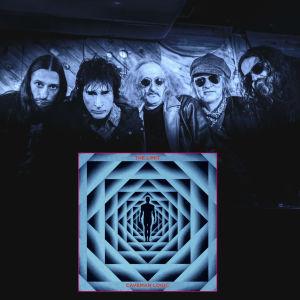 Bandet The Limit och skivomslaget under.