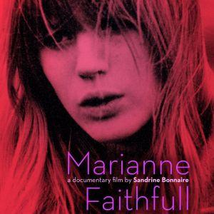 Marianne Faithfull dokumenttielokuvan julisteessa