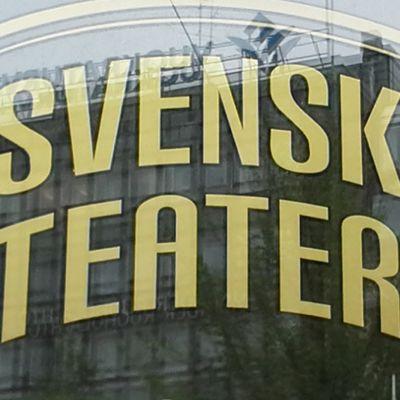 Svenska Teatern namnskylt