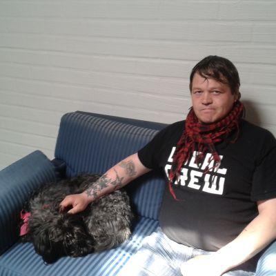 Tony Forsberg får subutexvård på drogkliniken på Munkholmen.