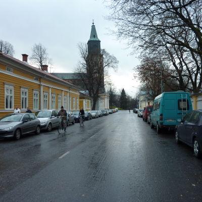 Biskopsgatan i Åbo.
