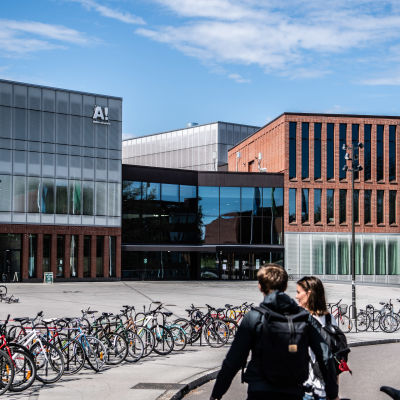 Aalto-yliopisto Keilaniemessä, Espoossa.