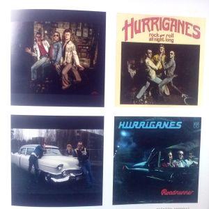 Hurriganes-skivomslag