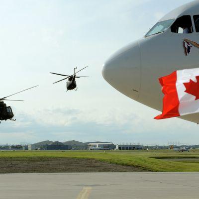 Världsledare anländer till G8-möte i Kanada