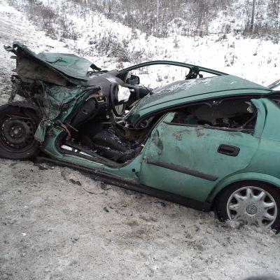 Juvalla sattui vakava liikenneonnettomuus.