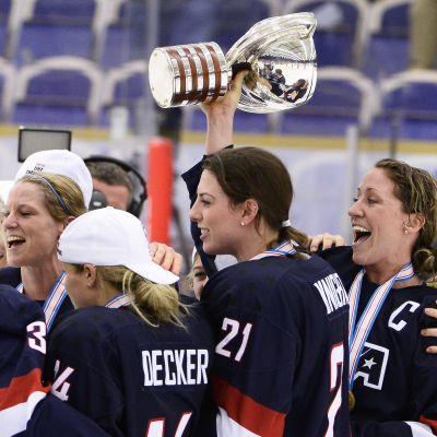 Yhdysvallat, MM-kultaa, 2015