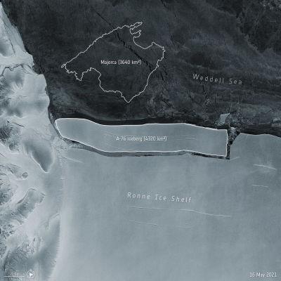 isberg, antarktis