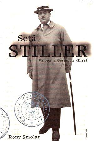 Pärmbilden till Rony Smolars bok om Abraham Stiller, flyktingarnas vän i Helsingfors.