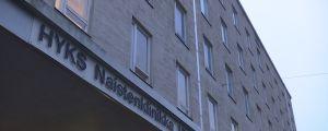 Naistenklinikan sisäänkäynti Helsingissä.