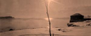 Kaivopuiston ranta talvella 1920-luku