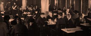 Elannon ravintola 1920-luvulla Kluuvikatu 1