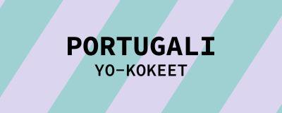 Navigaatiokuva aineen portugali yo-kokeille.