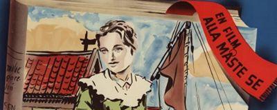 Rosen på Tistelön (1945) Filmaffisch