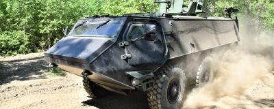 Patrias 6x6-pansarfordon.