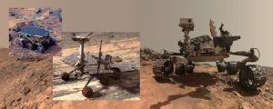 Kolme Mars-kulkijaa: Sojourner, MER ja Curiosity